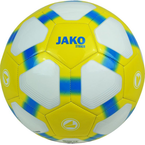 Jako jeugdbal Striker Light geel maat 5