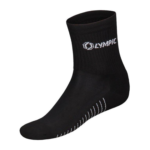 Olympic voetbalkousen training sock zwart