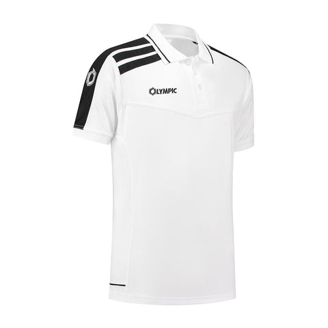Olympic Roma Polo wit/zwart