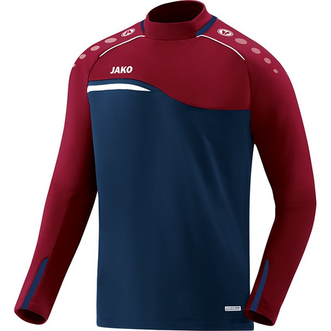 Jako sweater Competition 2.0 marine-donker rood (128-XXL)