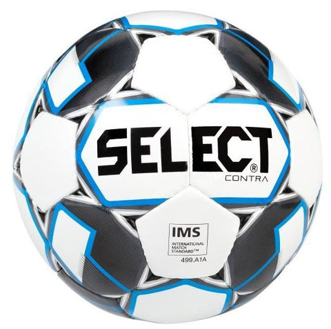 Select voetbal Contra Blue trainingsbal maat 5