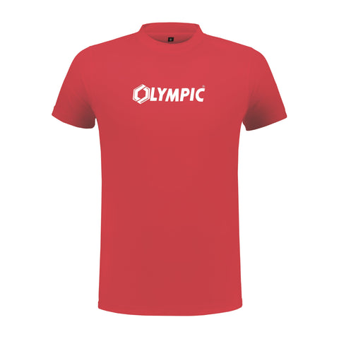 Olympic team t-shirt rood