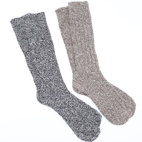 Heavy Knit Long Boot Socks - Men's