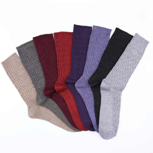 Merino Wool Cable Knit - Women's