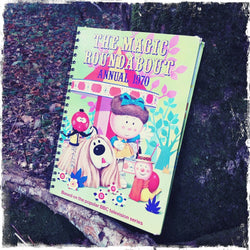 The Magic Roundabout Vintage Notebook