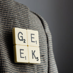 GEEK Vintage Brooch
