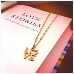 LOVEword Necklace
