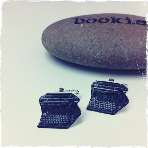 Typewriter Cufflinks