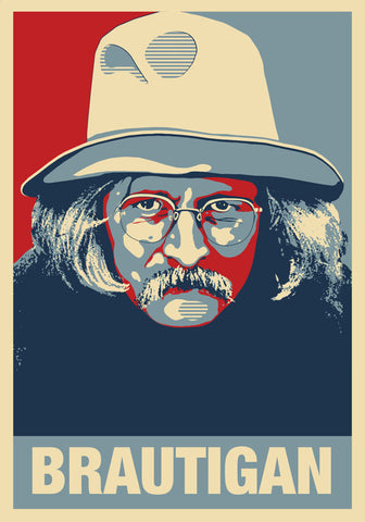 Richard Brautigan Print