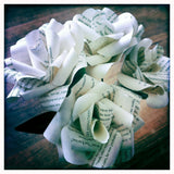 bookish Paper Rose