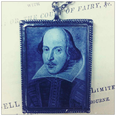 Shakespeare The Bard Necklace