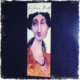 Virginia Woolf Caricature Bookmark