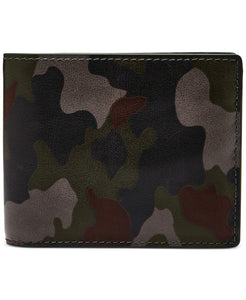 Military Style Leather Men's Wallet