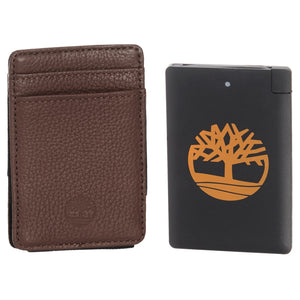Timberland Card Holder with Pocket Charger