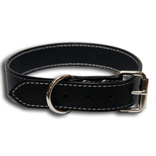 Big Dog Urban Classic Dog Collar Black