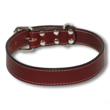 Big Dog Urban Classic Dog Collar Burgundy