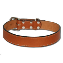 Big Dog Urban Classic Dog Collar Tan