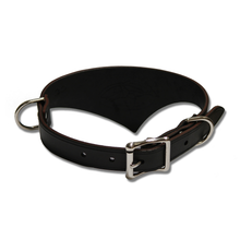 Shark Fin™ Collar, Urban West Coast Style, Black with Nickel