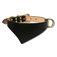 Shark Fin™ Collar, Trail West Coast Style, Black with Brass