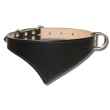 Shark Fin™ Collar, Trail West Coast Style, Black with Nickel Hardware