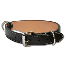 Shark Fin™ Collar, Trail Classic Style, Black with Nickel Hardware