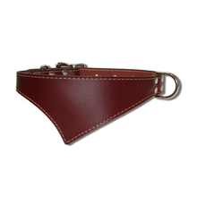Shark Fin™ Collar, Urban Classic Style, Burgundy with Nickel