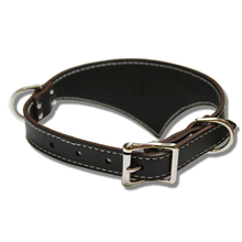 Shark Fin™ Collar, Urban Classic Style, Black with Nickel