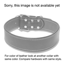 "Large Dog Urban Classic 2"" Wide Collar, James Bond Burgundy"