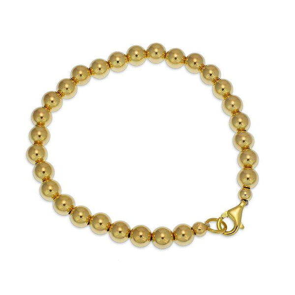 Plain Layering Bracelet Stretch Bracelet Gold Filled