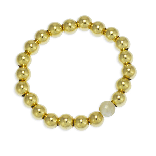 Athena Pearl Beads Ring