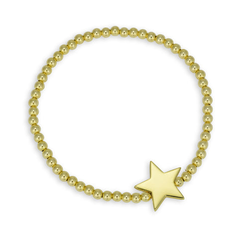 Star, Star Bracelet, Gold Filled, Gold Filled Bracelet, Sterling Silver Bracelet, celestial bracelet