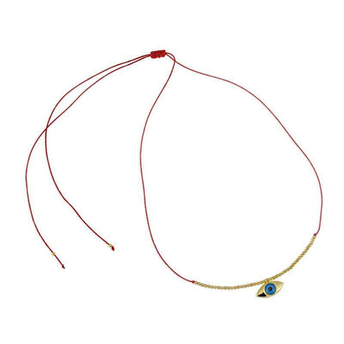 evil eye choker necklace