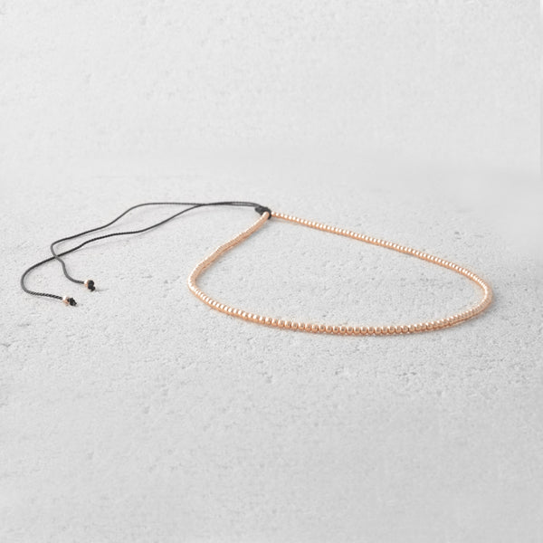 Avery Beaded Choker Necklace