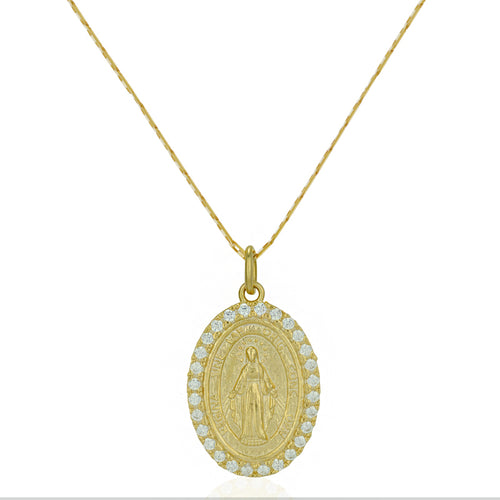 Victoria Virgin Mary Necklace