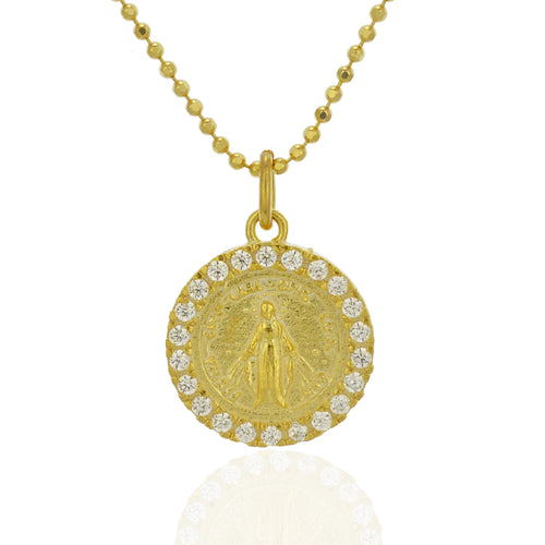 Ella Virgin Mary Necklace