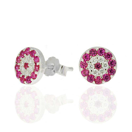 Round Flowers Earrings