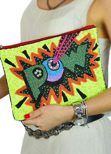 Clutch Sequins Pow
