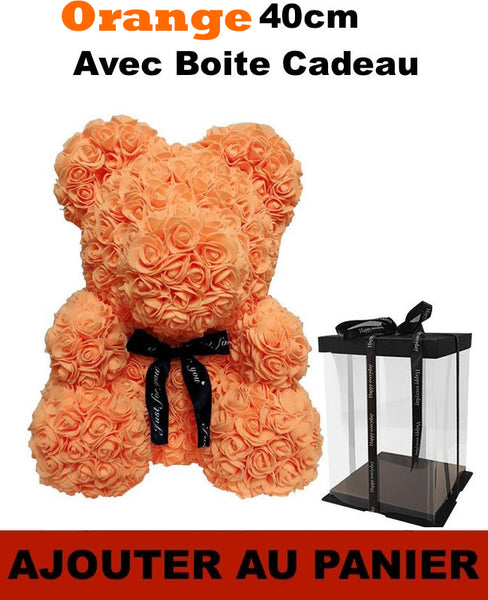 Orange doudou fleur our en rose