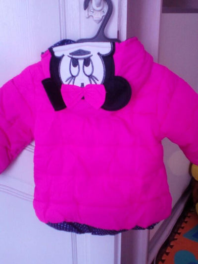 Doudoune Minnie Adorable [Bon Prix] - Boutique Maman