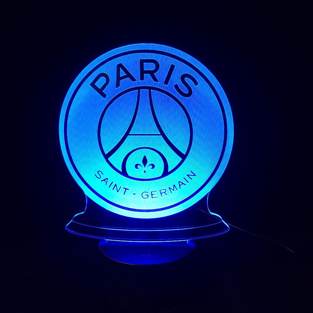 Veilleuse 3D Led Du Paris Saint-Germain - Boutique Maman