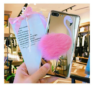 Coque Flamant Rose en 3D Iphones - Boutique Maman