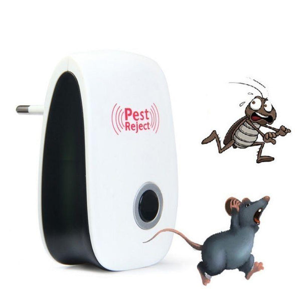 STOPINSECTO™: Prise Ultrasonique anti insectes & rongeurs