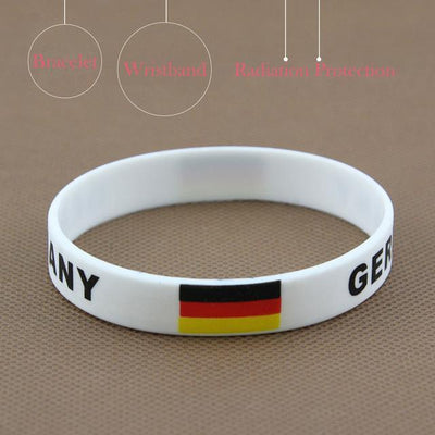 Bracelet coupe du monde en silicone Boutique Maman Germany