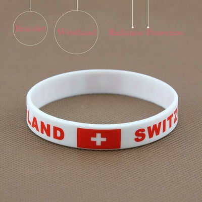 Bracelet coupe du monde en silicone Boutique Maman Switzerland