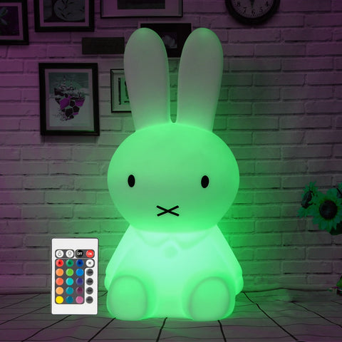 Led Veilleuse Lampe Rechargeable Lapin Et vNyOnm80w