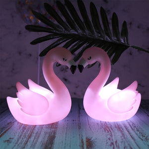 Lampe LED Flamant