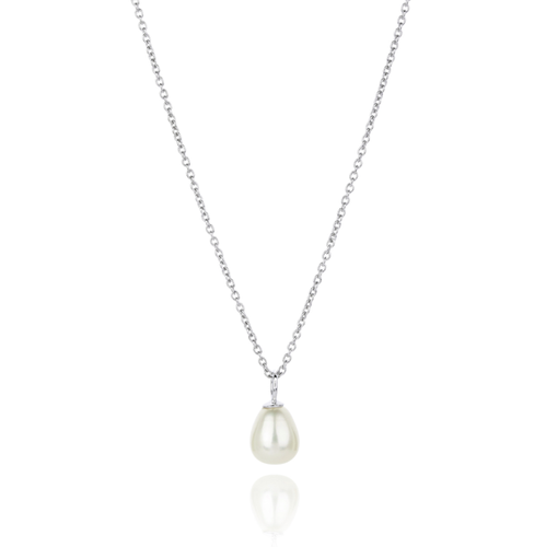 FAVOURITE PEARL DROP NECKLACE