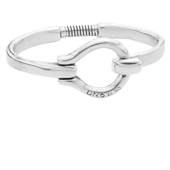 Uno de 50 silver hooked on a feeling bracelet