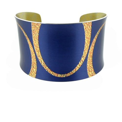 Aluminium Designs bella blue bangle