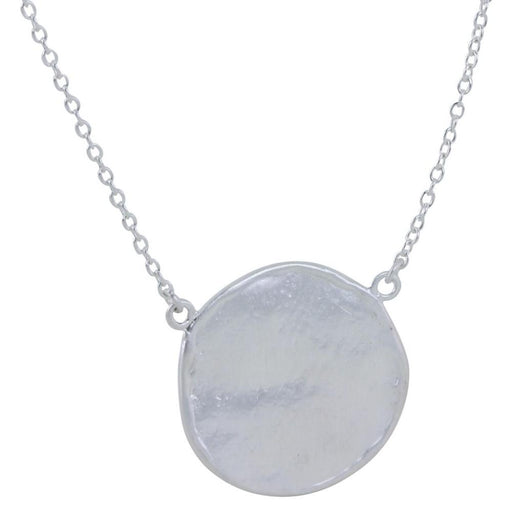 Silver honesty necklace